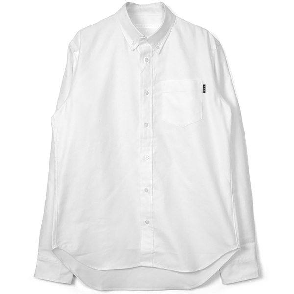 OXFORD SHIRT/WHITE(GX-A19-1801-211)