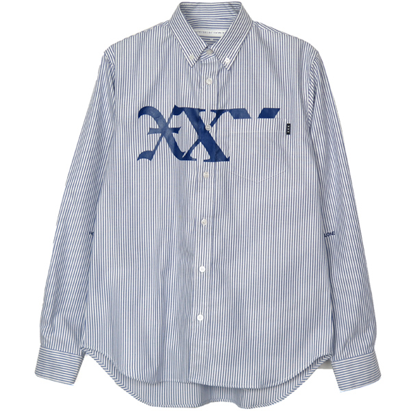 OXFORD SHIRT/BLUE STRIPE(GX-A19-1828-254)