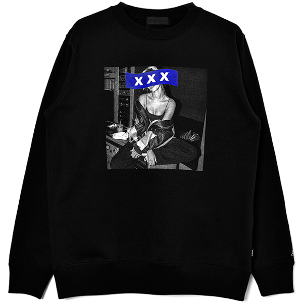 SWEAT SHIRT/BLACK(GX-A20-CS-01)