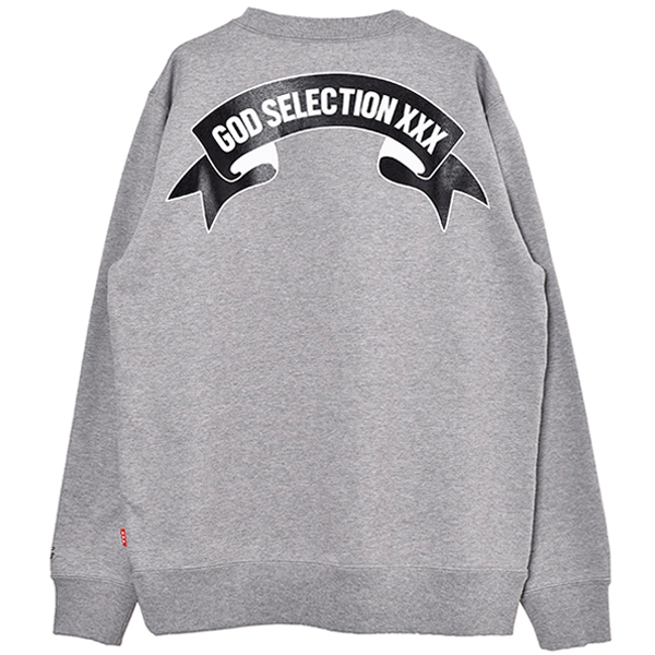 SWEAT SHIRT/GRAY(GX-A20-CS-01)