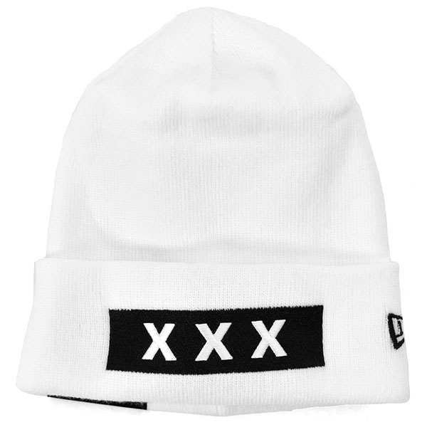 KNIT CAP/WHITE(GX-A20-HT-03)