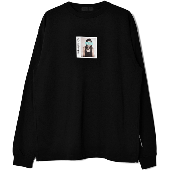L/S T-SHIRT/BLACK(GX-A20-LT-01)