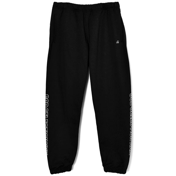SWEAT PANTS/BLACK(GX-A20-PT-05)