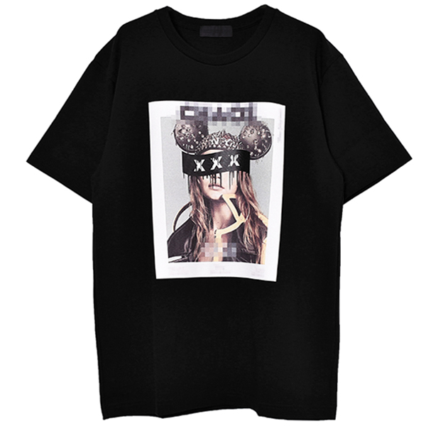 T-SHIRT/BLACK(GX-A20-ST-04)