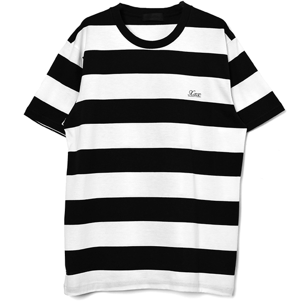 T-SHIRT/WHITE×BLACK(GX-A20-ST-07)