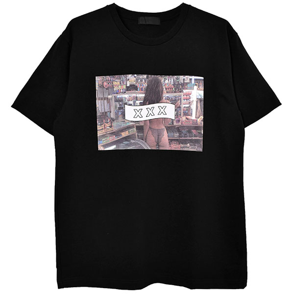 T-SHIRT/BLACK(GX-A20-ST-13)