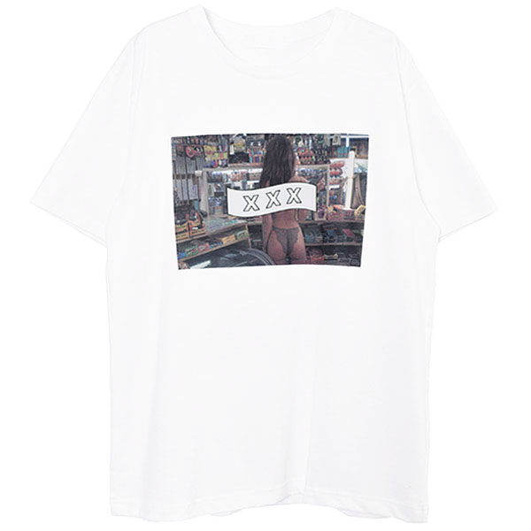 T-SHIRT/WHITE(GX-A20-ST-13)