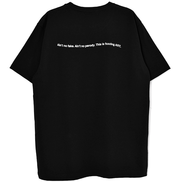 T-SHIRT/BLACK(GX-A20-ST-18)