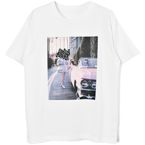 T-SHIRT/WHITE(GX-A20-ST-21)