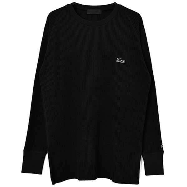 THERMAL L/S T-SHIRT/BLACK(GX-A20-TH-01)