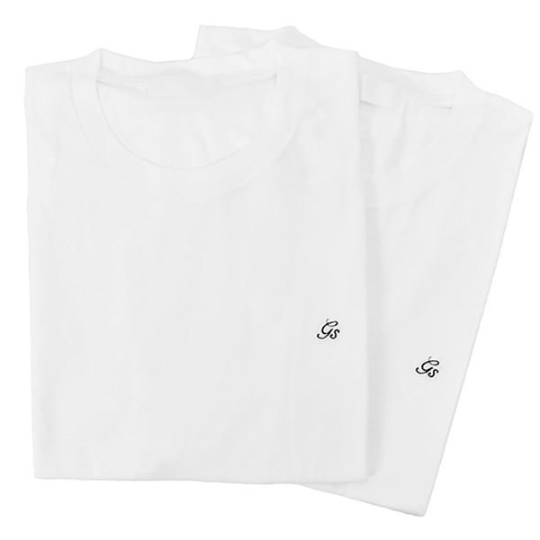 2PACK T-SHIRT/WHITE(GX-A20-TT-01)