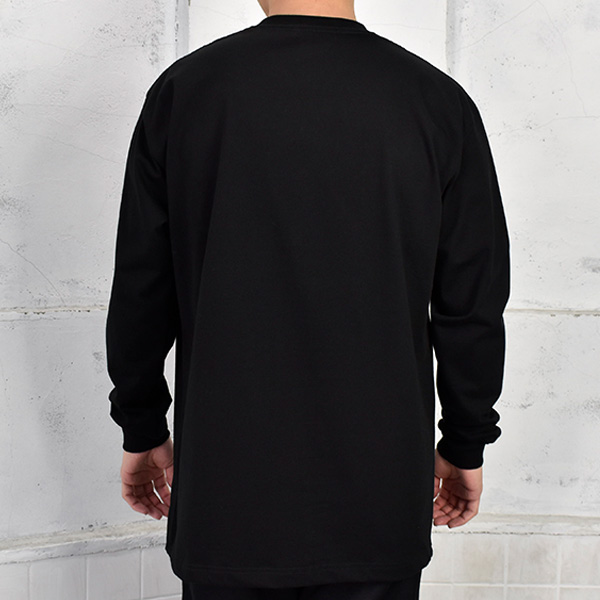 L/S T-SHIRT/BLACK(GX-A21-LT-02)
