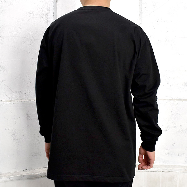 L/S T-SHIRT/BLACK(GX-A21-LT-04)
