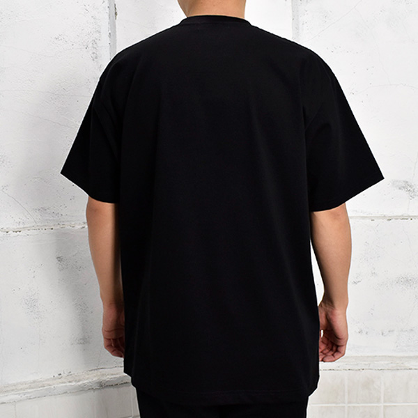 T-SHIRT/BLACK(GX-A21-ST-07)