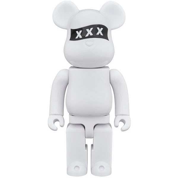 BE@RBRICK×GOD SELECTION XXX 400%/WHITE(GX-S18-7401-B01)