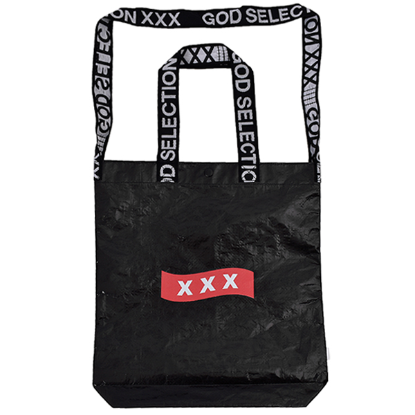 TOTE BAG/BLACK/RED(GX-S19-GD-04)
