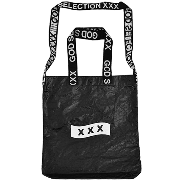 TOTE BAG/BLACK/WHITE(GX-S19-GD-04)