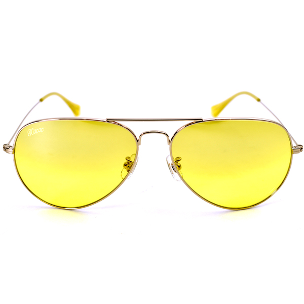 SUNGLASSES/YELLOW(GX-S19-NNGD-01)