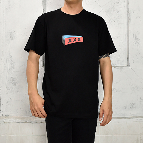 T-SHIRT/BLACK(GX-S19-ST-22)