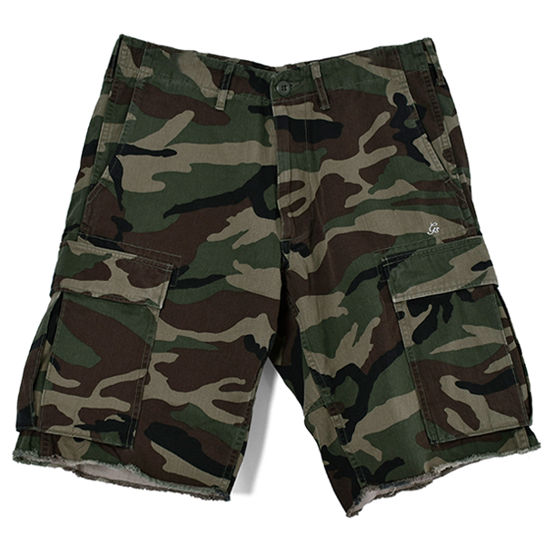 CARGO SHORTS/CAMOUFLAGE(GX-S20-SP-01)