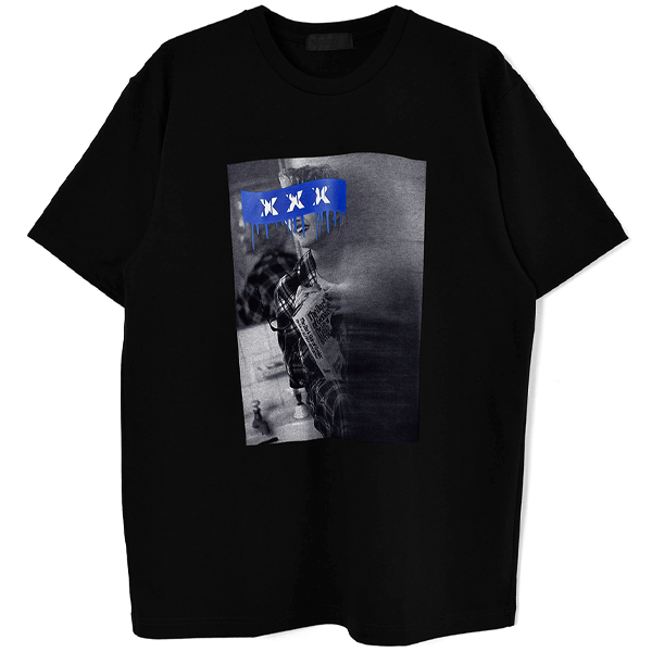 T-SHIRT/BLACK(GX-S20-ST-06)