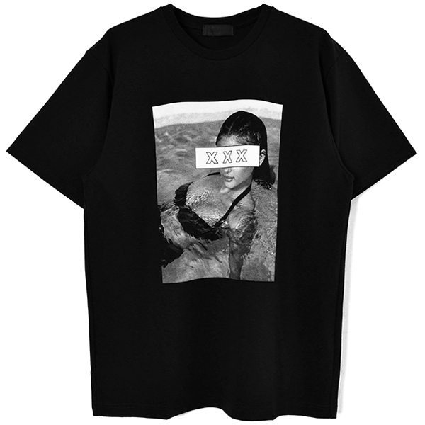 T-SHIRT/BLACK(GX-S20-ST-07)