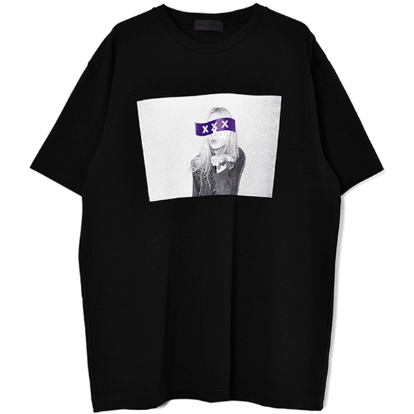 T-SHIRT/BLACK(GX-S20-ST-19)