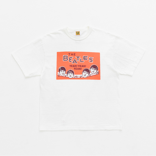 【ポイント10倍】T-SHIRT BEATLES/WHITE