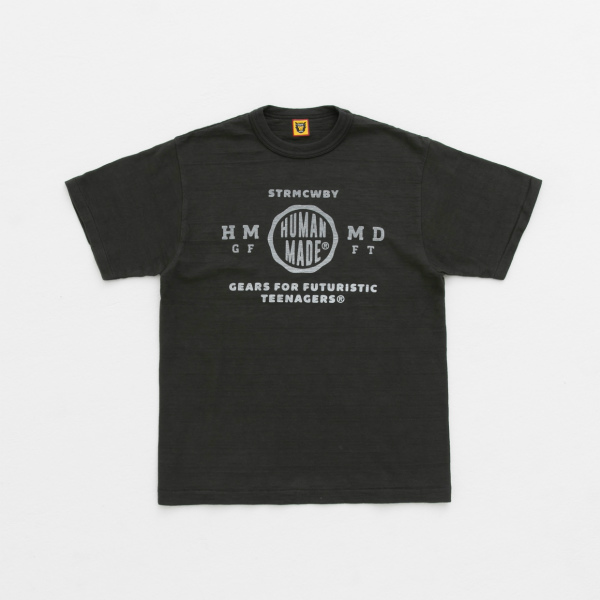 CIRCLE LOGO T-SHIRT/BLACK