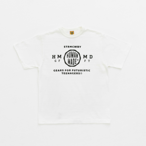 CIRCLE LOGO T-SHIRT/WHITE