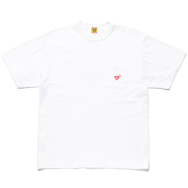 POCKET T-SHIRT/WHITE