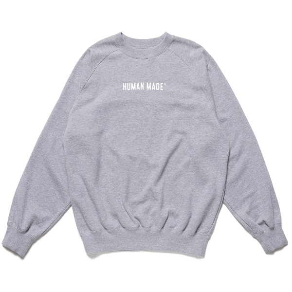 RAGLAN SWEATSHIRT/GRAY