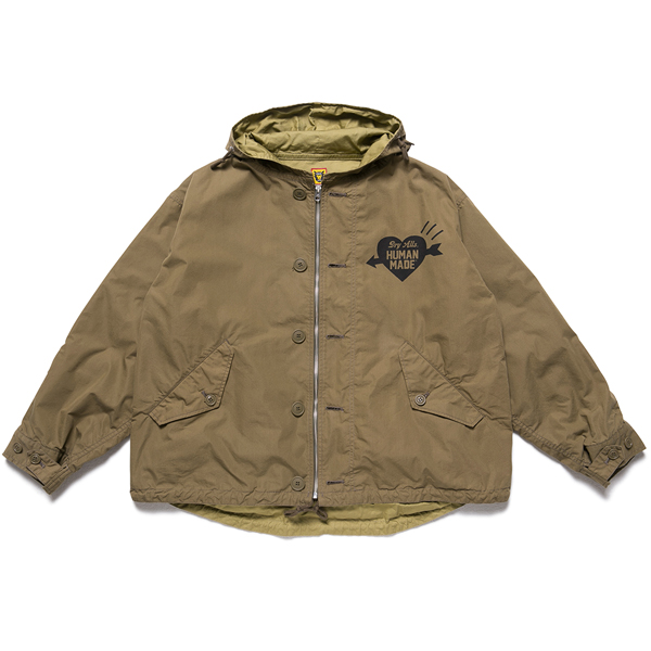 MILITARY SHORT JACKET/OLIVE DRAB