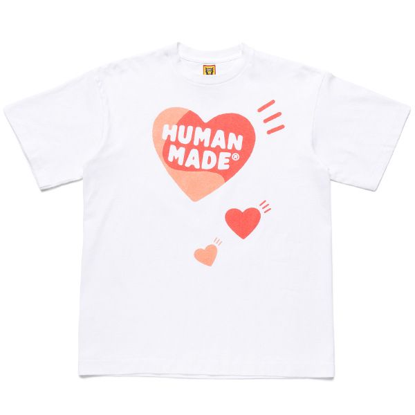 HEART T-SHIRT/WHITE