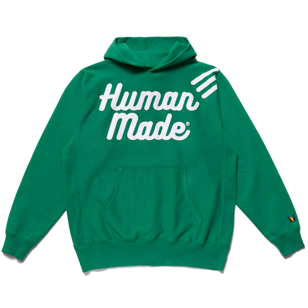 PULLOVER HOODIE/GREEN