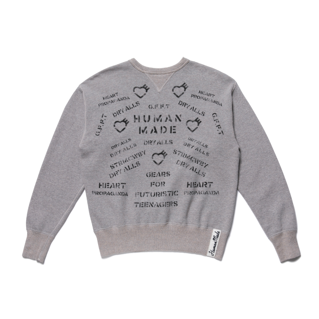 MILITARY SWEATSHIRT/GRAY
