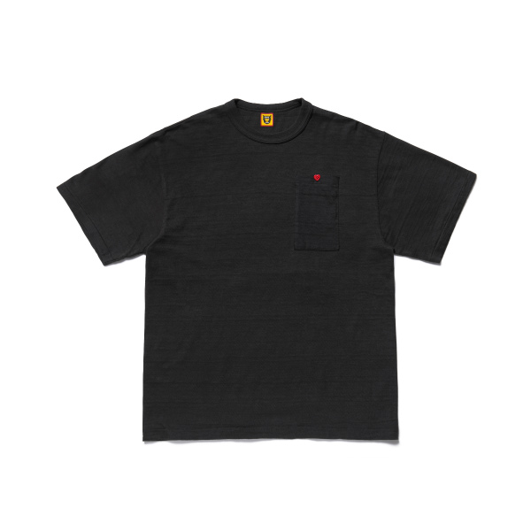 LONG POCKET T-SHIRT/BLACK