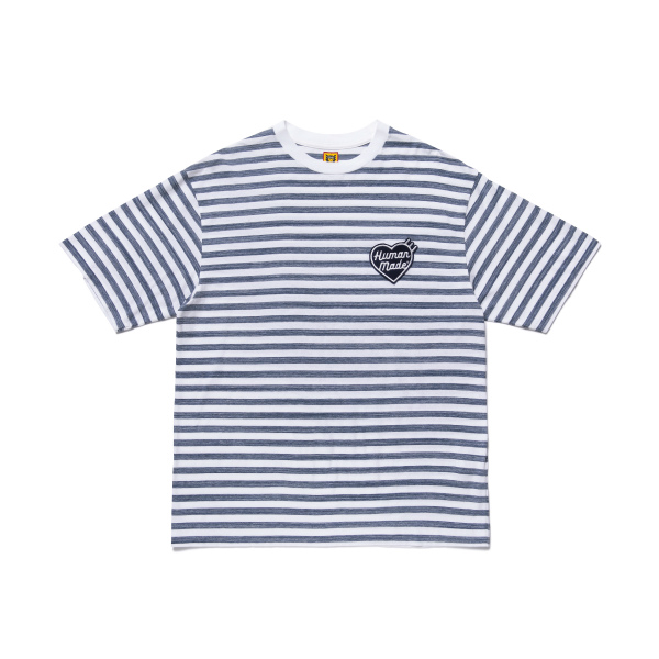 BORDER T-SHIRT/NAVY