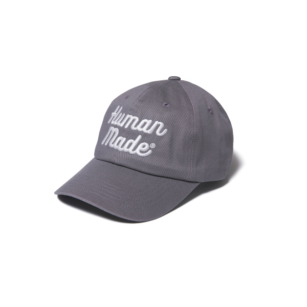 6PANEL TWILL CAP/GRAY