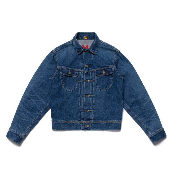 DENIM WORK JACKET/INDIGO