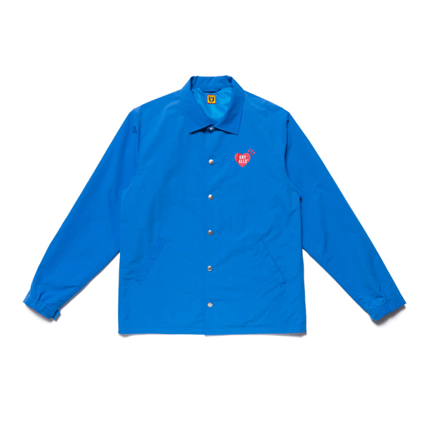 COACH JACKET/BLUE