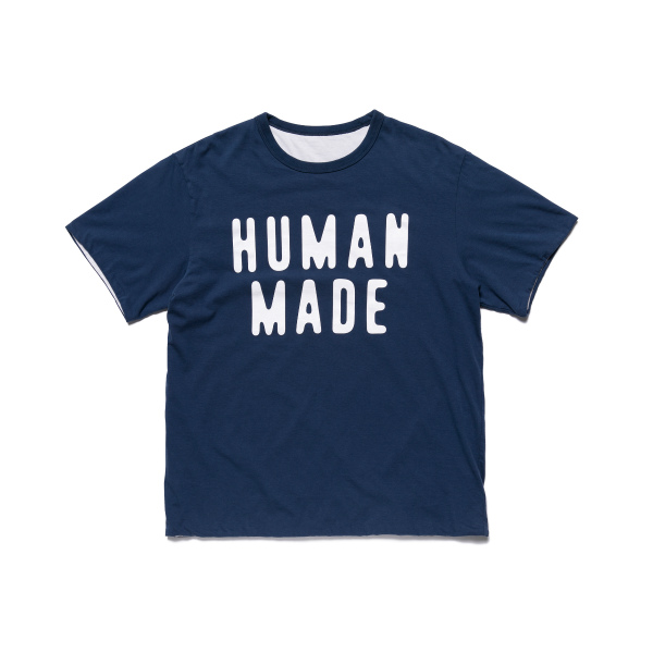 REVERSIBLE T-SHIRT/BLUE