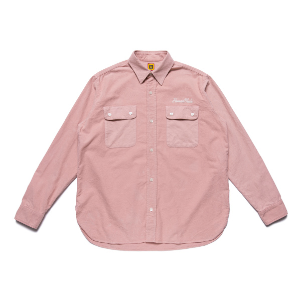 FLANNEL L/S SHIRT/PINK