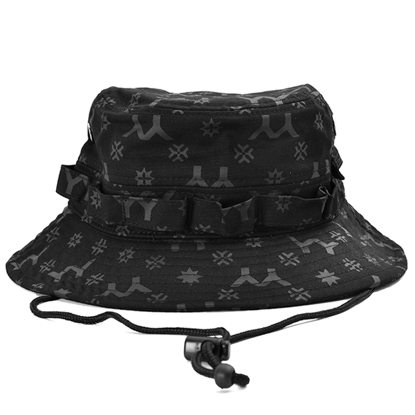 yohji yamamoto×NEW ERA MONOGRAM LOGO ADVENTORE HAT/BLACK