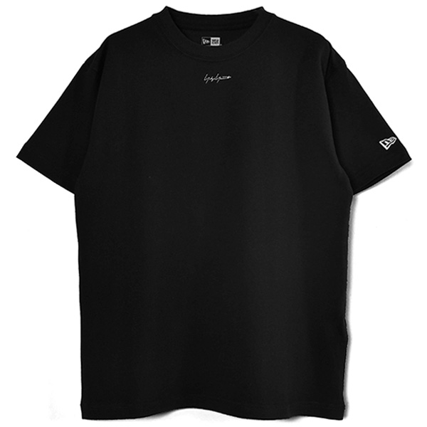 yohji yamamoto×NEW ERA MINI LOGO S/S COTTON TEE/BLACK