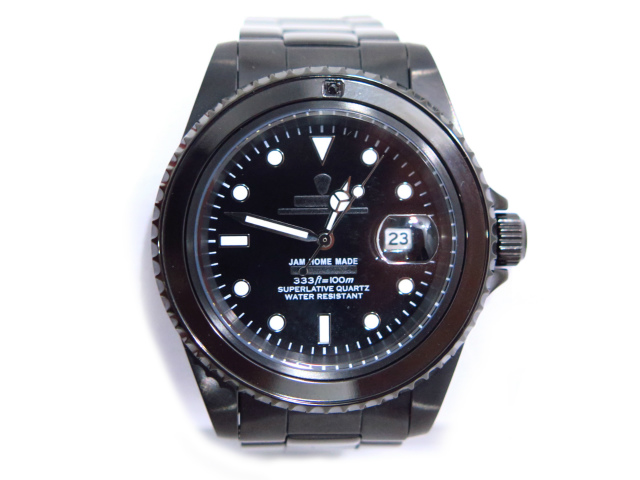 JAM DIAMOND WATCH -BLACK-
