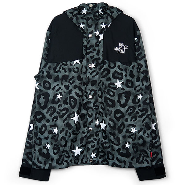 STAR LEOPARD MOUNTAIN JKT/BLACK(MJK-A1805)
