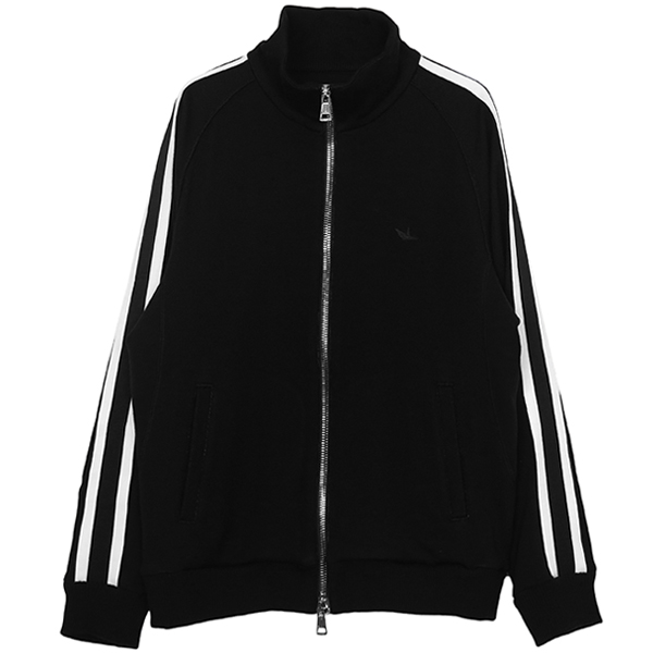 LINE TRACK JACKET/BLACK/WHITE