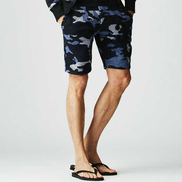 3 WAPPEN SHORTS/BLACK CAMO
