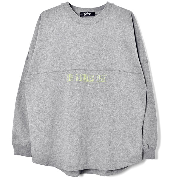 HEAVY COTTON  ARENA TOP/TOP GRAY